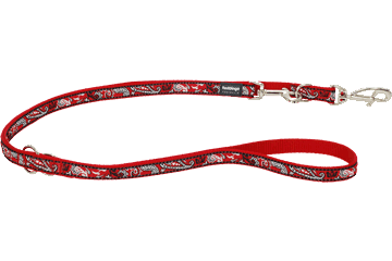 Red Dingo Laisse polyvalent Bandana Rouge MP-BA-RE