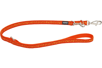 Red Dingo Multipurpose Lead Bedrock Orange MP-BE-OR
