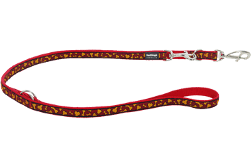 Red Dingo Multipurpose Lead Bonarama Orange MP-BR-OR