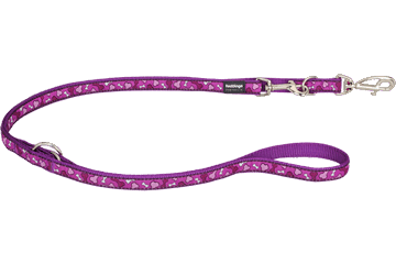 Red Dingo Multipurpose Lead Bonarama Purple MP-BR-PU
