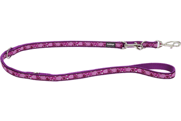 Red Dingo Multipurpose Lead Breezy Love Purple MP-BZ-PU