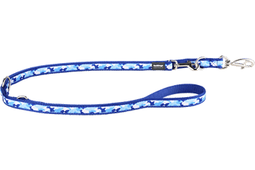 Red Dingo Multipurpose Lead Camouflage Dark Blue MP-CF-DB
