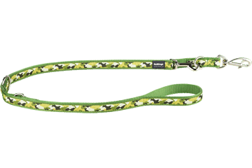 Red Dingo Multipurpose Lead Camouflage Green MP-CF-GR