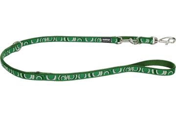 Red Dingo Multipurpose Lead Circadelic Green MP-CI-GR