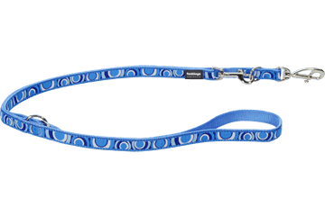 Red Dingo Multipurpose Lead Circadelic Medium Blue MP-CI-MB