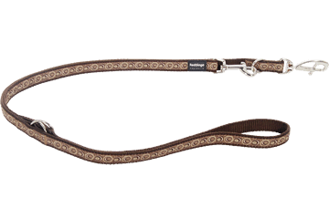 Red Dingo Multipurpose Lead Cosmos Brown MP-CO-BR
