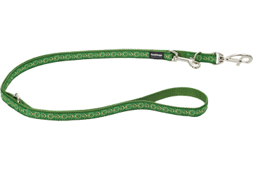 Red Dingo Multipurpose Lead Cosmos Green MP-CO-GR