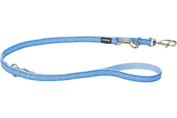 Red Dingo Multipurpose Lead Cosmos Light Blue MP-CO-LB