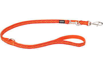 Red Dingo Multipurpose Lead Cosmos Orange MP-CO-OR