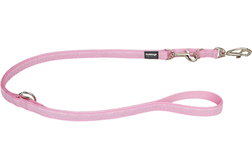 Red Dingo Multipurpose Lead Daisy Chain Pink MP-DC-PK