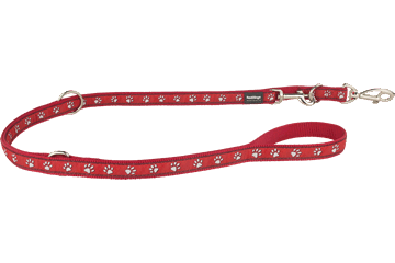 Red Dingo Laisse polyvalent Patte Rouge MP-DP-RE
