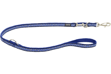 Red Dingo Multipurpose Lead Flying Bones Dark Blue MP-FL-DB