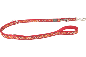Red Dingo Multi Purpose Lijn Flanno rood MP-FN-RE