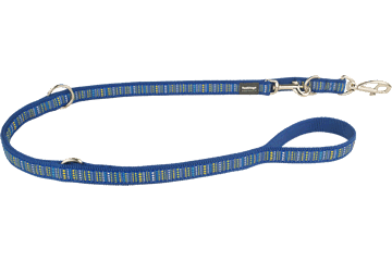 Red Dingo Multipurpose Lead Lotzadotz Dark Blue MP-LD-DB