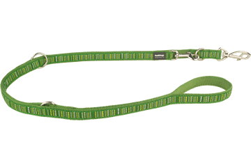Red Dingo Multipurpose Lead Lotzadotz Green MP-LD-GR