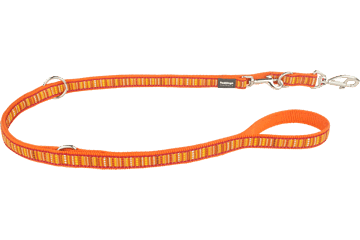 Red Dingo Multipurpose Lead Lotzadotz Orange MP-LD-OR