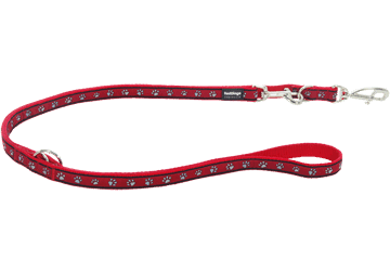 Red Dingo Multi Purpose Lijn Paw Prints rood MP-PP-RE