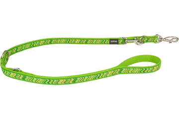 Red Dingo Multipurpose Lead Pizzazz Lime Green MP-PZ-LG