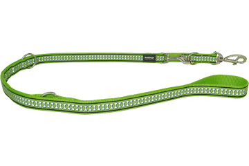 Red Dingo Multi Purpose Lijn Reflective Bones Lime Green MP-RB-LG