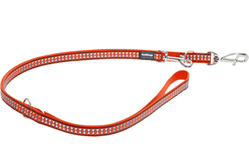 Red Dingo Multi Purpose Lijn Reflective Bones oranje MP-RB-OR
