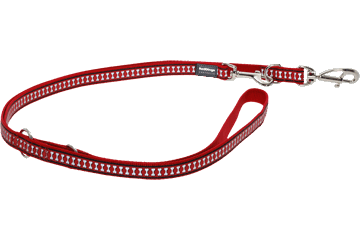 Red Dingo Multi Purpose Lijn Reflective Bones rood MP-RB-RE