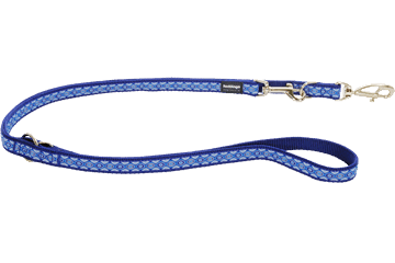 Red Dingo Multipurpose Lead Snake Eyes Dark Blue MP-SE-DB