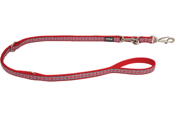 Red Dingo Multipurpose Lead Union Jack Red MP-UK-RE