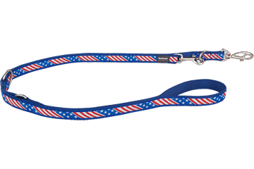 Red Dingo Multipurpose Lead Stars & Stripes Dark Blue MP-US-DB