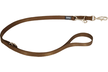 Red Dingo Multipurpose Lead Classic Brown MP-ZZ-BR