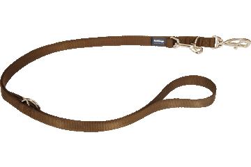Red Dingo Multipurpose Lead Classic Marrone MP-ZZ-BR