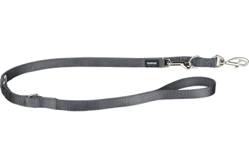 Red Dingo Multipurpose Lead Classic Cool Grey MP-ZZ-GY