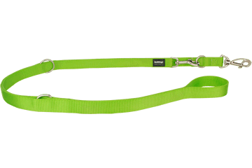 Red Dingo Multipurpose Lead Classic Lime Green MP-ZZ-LG