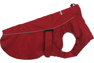 Red Dingo Manteau de pluie Rouge RC-WF-RE