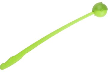 Red Dingo Lanceur de balle Flingo Modèle classique avec protection contre la boue Vert citron TS-FX-LG