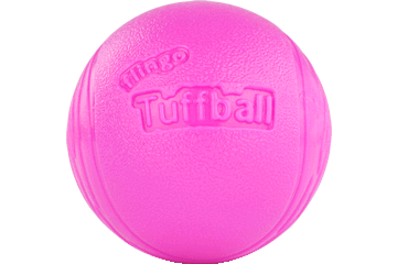 Red Dingo Flingo Ball Thrower Tuffball Bubblegum TS-TB-HP