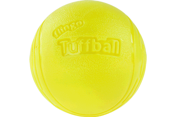 Red Dingo Flingo Ball Thrower Tuffball Lime Green TS-TB-LG