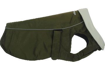 Red Dingo Manteau chaud Acier inoxydable Olive profond WC-MF-GR